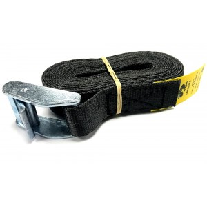 Cam Buckle Strap 3m x 25mm - Black picture