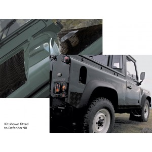 Britpart Defender Chequer Plate Kit For 110 - Black picture
