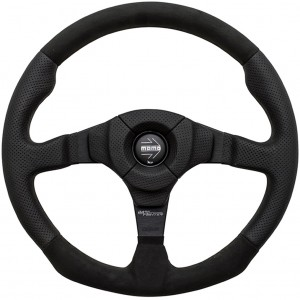 Momo Dark Fighter Steering Wheel 350mm picture