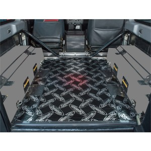 Dynamat Sound Deadening Rear Tub Floor Defender 90 2007 On picture