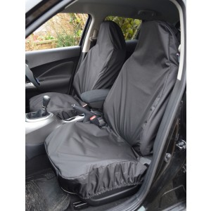 Universal Seat Covers Front Pair with airbag opening picture