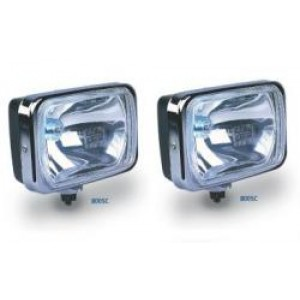 IPF 800 rectangular driving lights 130w and loom - Pair picture