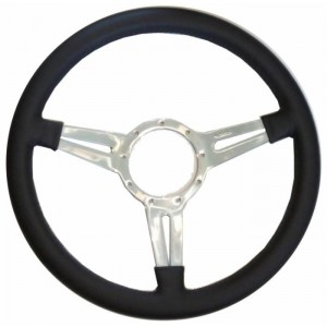 "Mota-Lita Steering Wheel 15"" Silver With Slots picture"