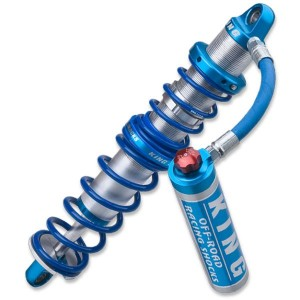 "King 2.0"" Performance Series Coil-Over Hose Remote Reservoir 7/8 Stainless Shaft Option picture"