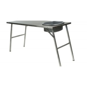 Front Runner Stainless Steel Prep Table With Basin And Mount Kit picture