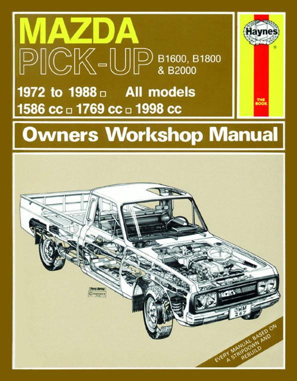 haynes workshop manual for mazda pick up devon 4x4 267 hay rh devon4x4 com Ford F100 Mazda B 2000 Lowrider