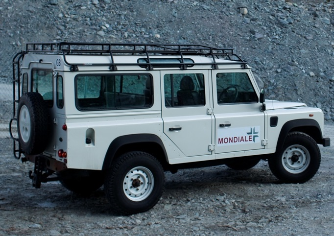 Safety Devices G4 Expedition Roof Rack Defender 110
