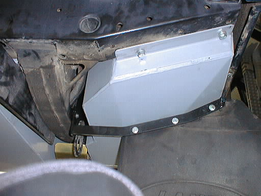 Long Ranger Auxiliary Fuel Tank Land Rover Defender 110