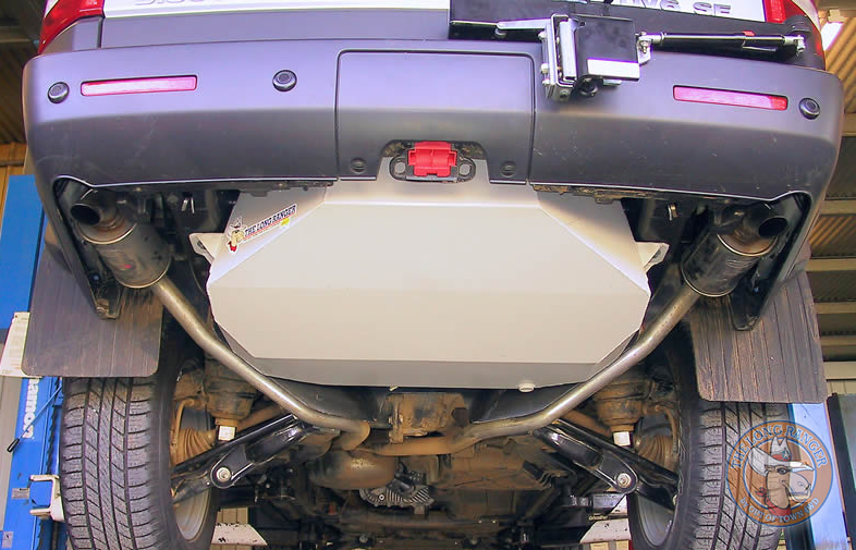 long ranger auxiliary fuel tank - land rover discovery 3 & discovery 4 104l  - devon 4x4 - ta62a-abl